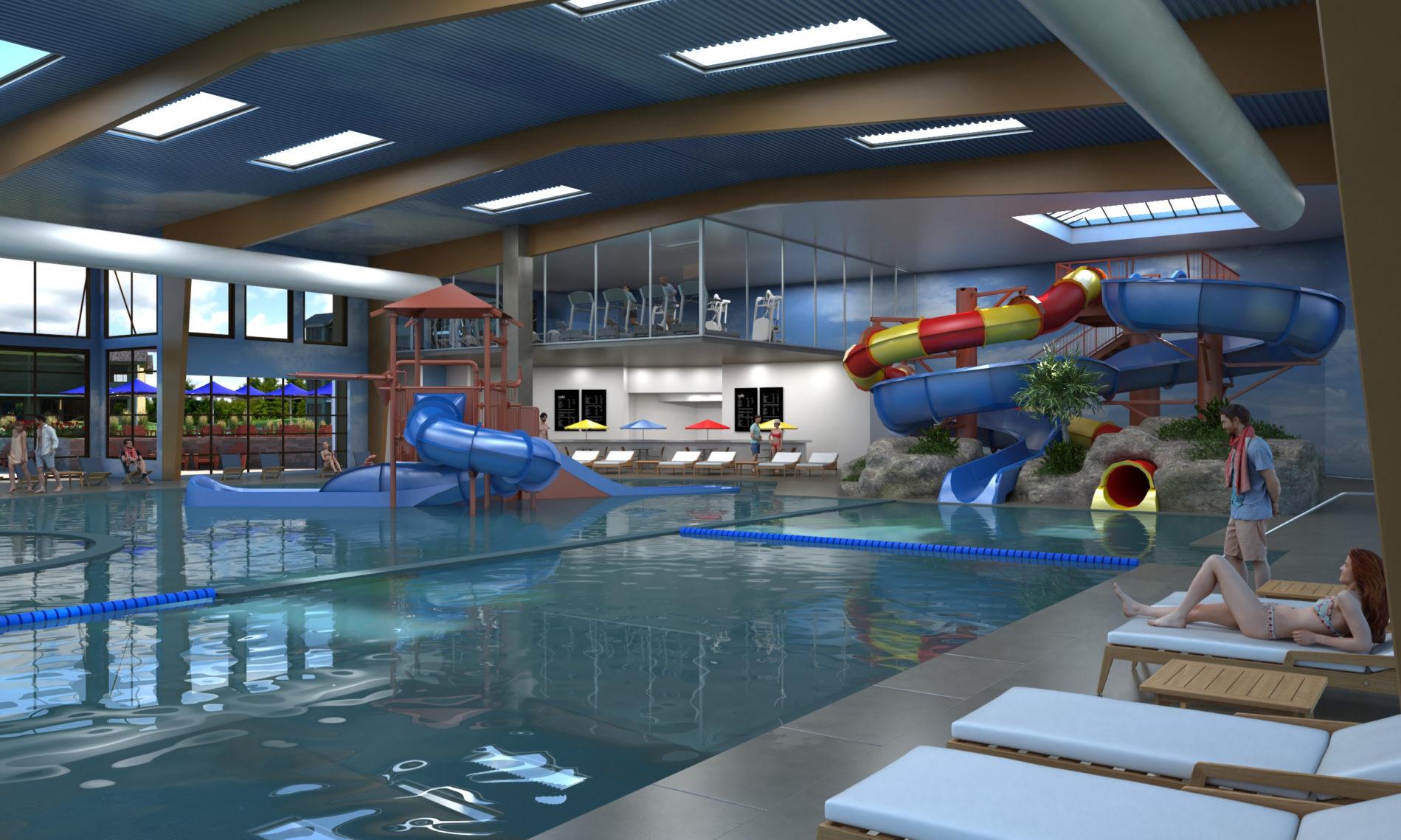 Indoor Water Park The Water 39 S Edge Resort At Bear Lake
